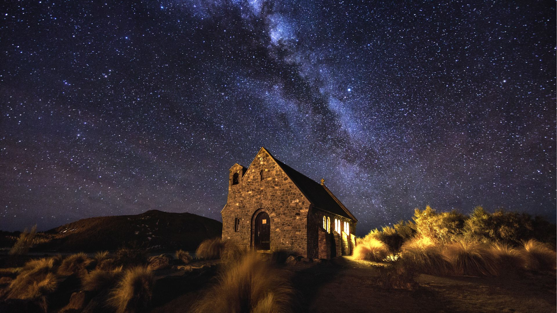 The Church of the Good Shepherd | Lake Tekapo, New Zealand